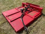 6 ft Skid Steer Rotary Cutter