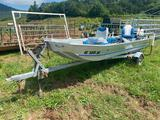 Fisher Marine Aluminum Boat