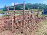 HD Steel Cattle Chute with Extra Steel Panels