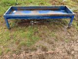 Blue Metal Feed Bunk