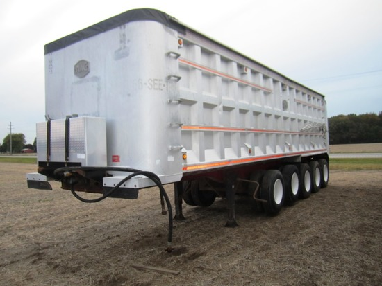 1994 MAC 43' Aluminum Dump Trailer