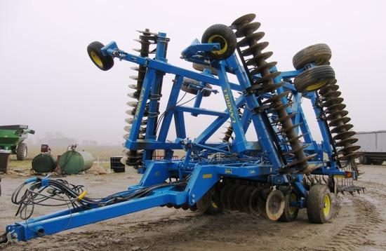 2012 Landoll 7431-29 Vertical Tillage Tool, 29'
