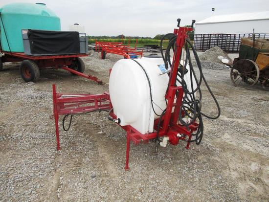 3pt. 130 gal. Sprayer w/ 40' Boom