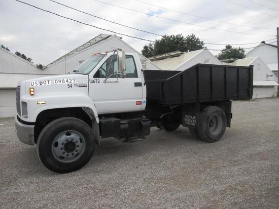 1996 GMC Topkick 6500 Dump Truck - Immaculate