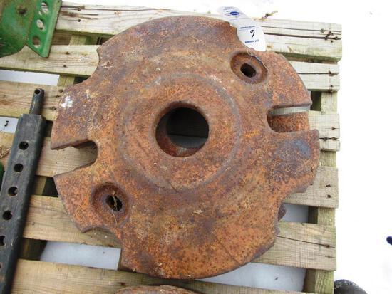 Allis Chalmers Wheel Weights