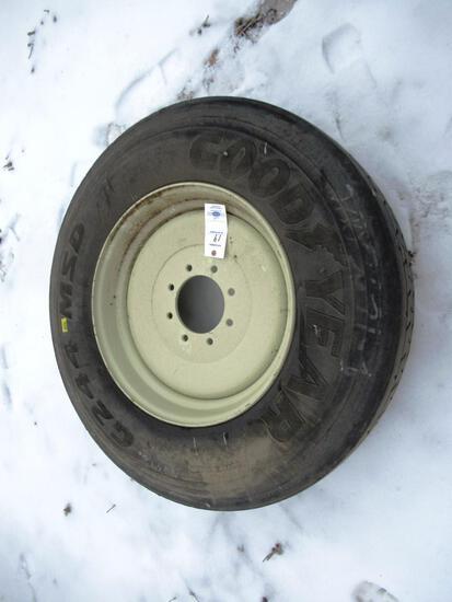 Grain Wagon Spare Wheel/Tire