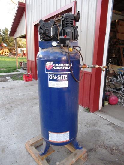 60 Gallon Upright 220v Air Compressor