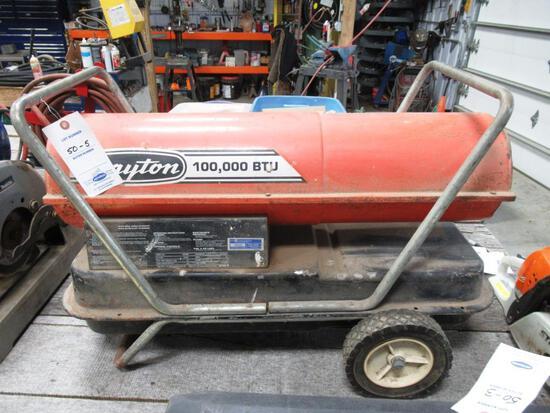 Dayton 100k BTU Kerosene Torpedo Heater
