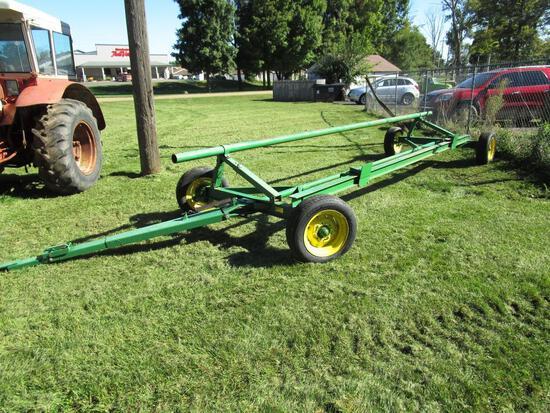 Gap Hill 674 20' Header Cart - NO RESERVE