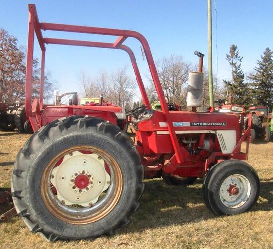 Nice IH 574 Tractor