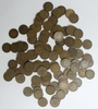 100 MIXED DATE INDIAN CENTS 1909 AND OLDER