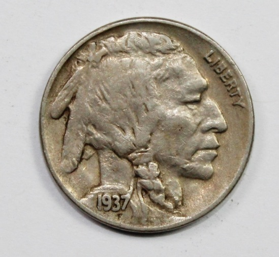 1937-D THREE LEGS BUFFALO NICKEL