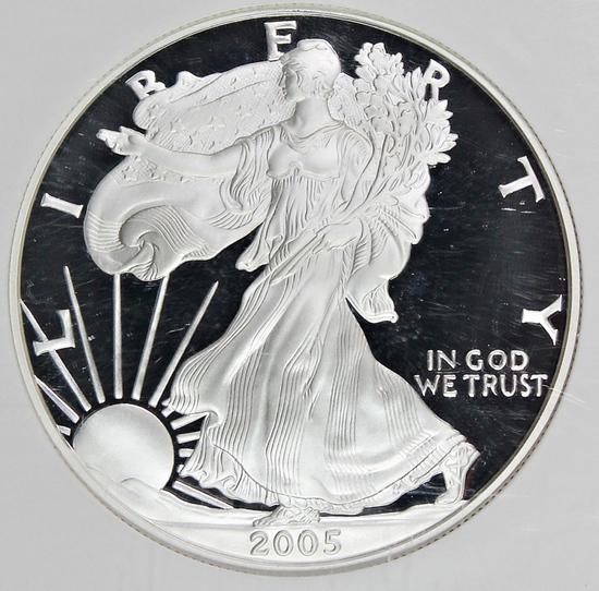 2005-W AMERICAN SILVER EAGLE