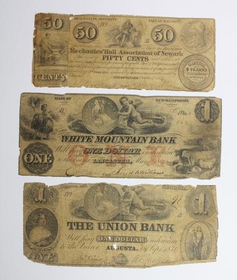 (3) COIN NOTES