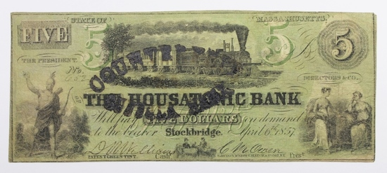 1857 THE HOUSATONIC BANK