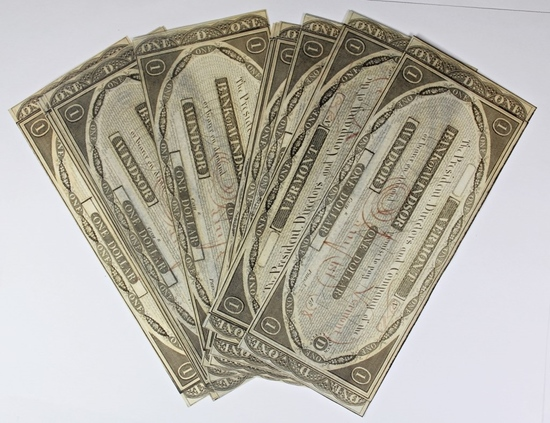 LOT OF 13 1808 BANK OF WINDSOR, VERMONT