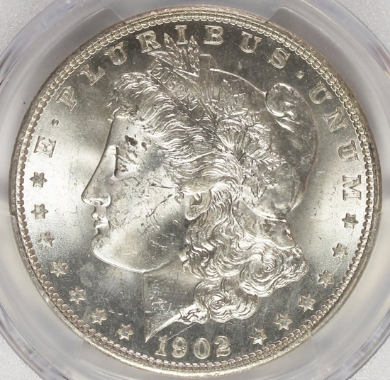 1902-0 MORGAN SILVER DOLLAR
