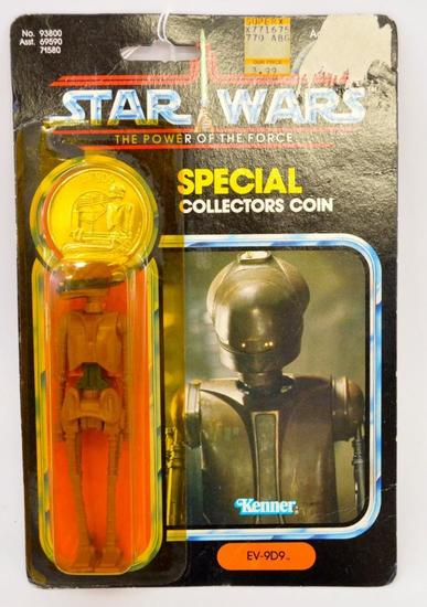 Kenner Power of The Force Star Wars Last 17 EV-9D9 figure MOSC MOC
