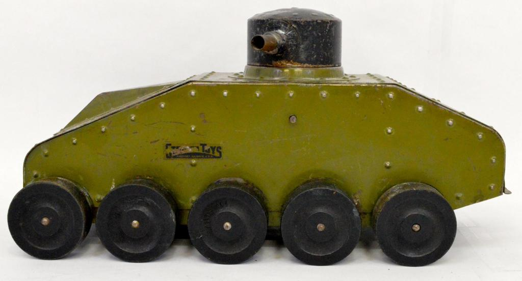 Antique and vintage tin, military toys and more