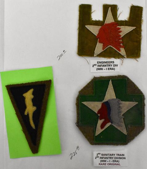 Three WWI US Military Army 2nd    Auctions Online   Proxibid