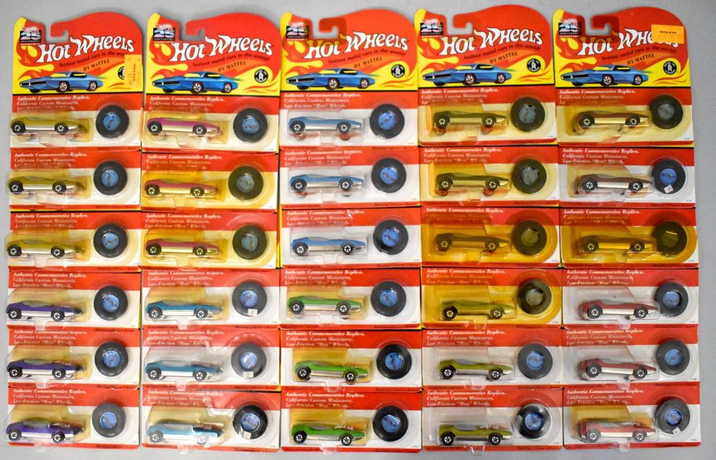 Vintage models, Hot Wheels, Barbies, slot cars etc