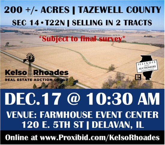 Tazewell County Farmland, Tract 1