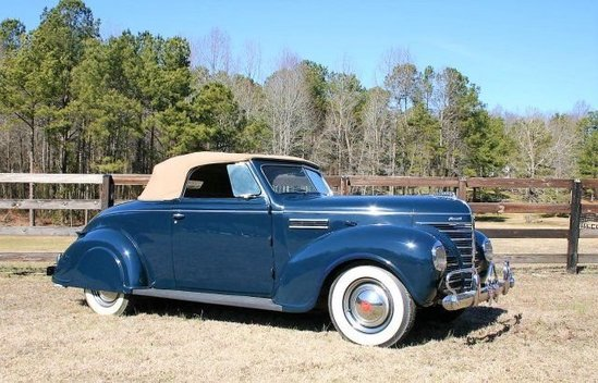1939 Plymouth Custom Convertible