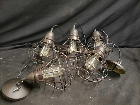 (5) decorative ceiling lights