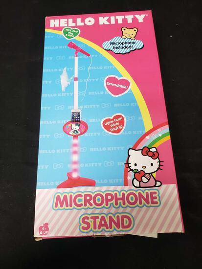 Hello KittyMicrophone Stand and Microphone