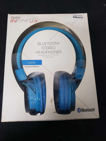 VIVITAR INFINITE BLUETOOTH STEREO HEADPHONES