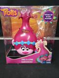 DREAMWORKS TROLLS Sing a long Karaokeke portable and includes Microphone