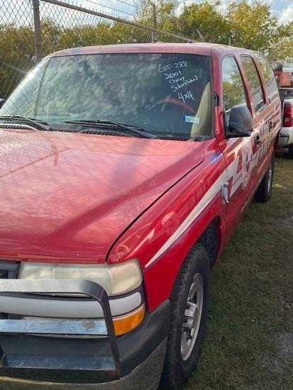 2001 Chevrolet Suburban 4X4