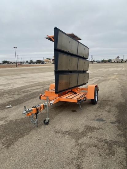highway signage trailer