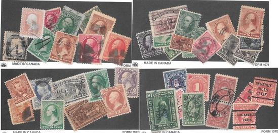 60+ Older US Stamps Inc. Grills, Blackjack & more