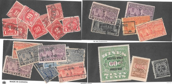 90+ Revenue/SD/Postage Due Stamps and more