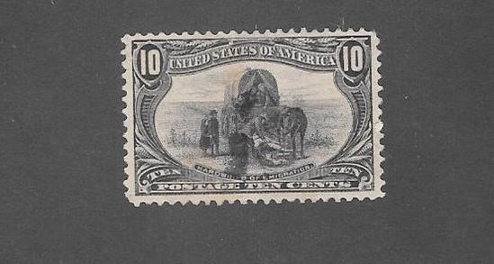 US Scott 290 Trans-Mississippi Stamp XF