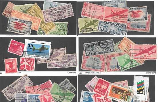 85 Early Airmail Stamps Inc. C1, C2-5 and more