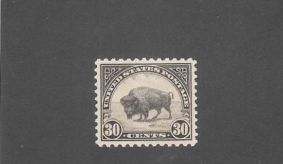 US SC 700 30 Cent Buffalo OGNH XFS