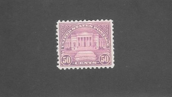 US Scott 701 Stamp 50c Arlington OGNH XF