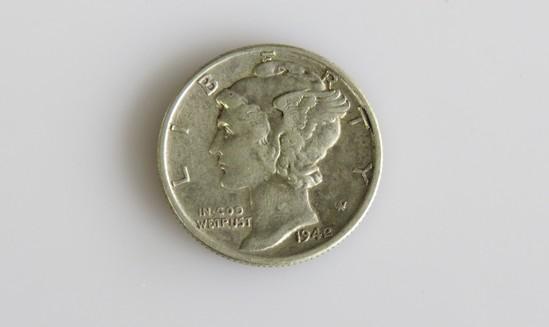 1942/41 Mercury Dime