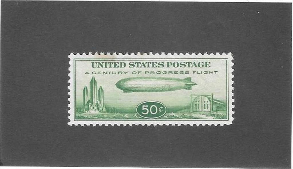 US C18 Graf Zepplin Airmail Mint XF