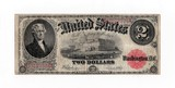 1917 Legal Tender $2.00 Note VF-XF