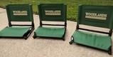 Set of 3 Stadium Chairs