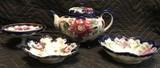 China tea pot and Bowls