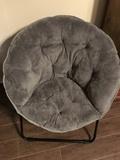 Children's collapsible round chair