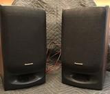 Pair of 2 Panasonic Speakers