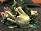 Ceramic Decorative Cabbage Flower