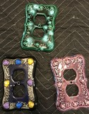 3 Ceramic Outlet Plug Covers