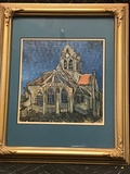 Framed Puzzle Church Picture