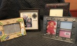 Assorted Special Occasion Picture Frames